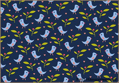 bird pattern 2