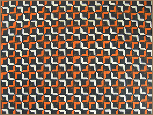 Another geometric pattern fabric with a luxury touch and a light shine