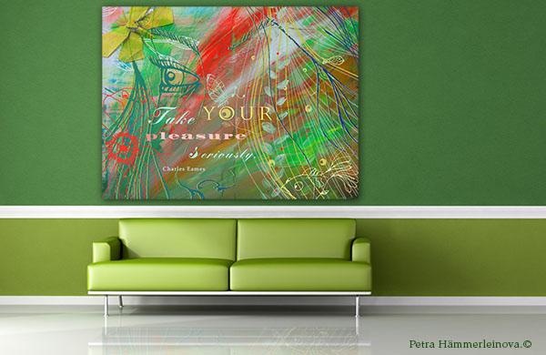"Petra Haemmerleinova ""Pleasure"" wall art"