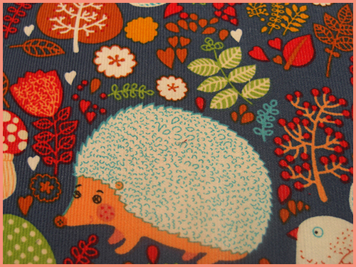 fabric hedgehog