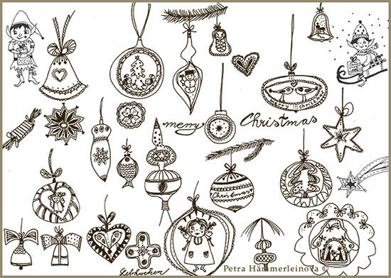 Petra Haemmerleinova 1 christmas sketches