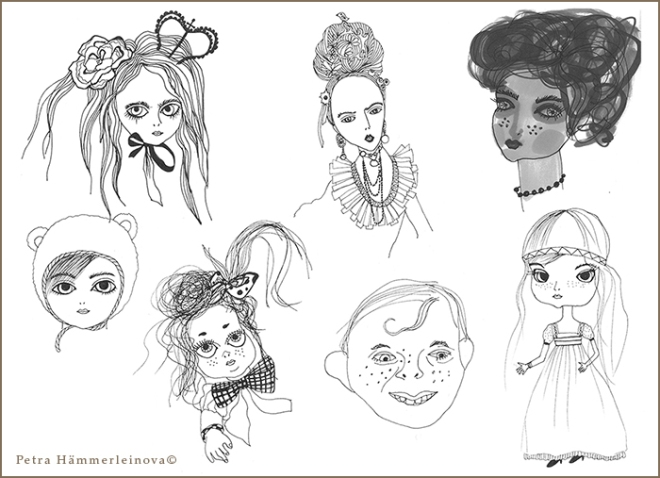 dool sketches by Petra Hämmerleinova©