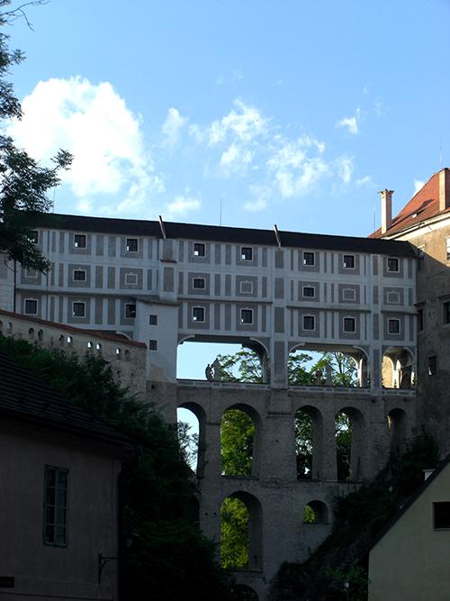 Cesky Krumlov castle /bridge