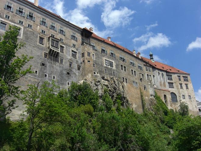 cesky krumlov castle old part