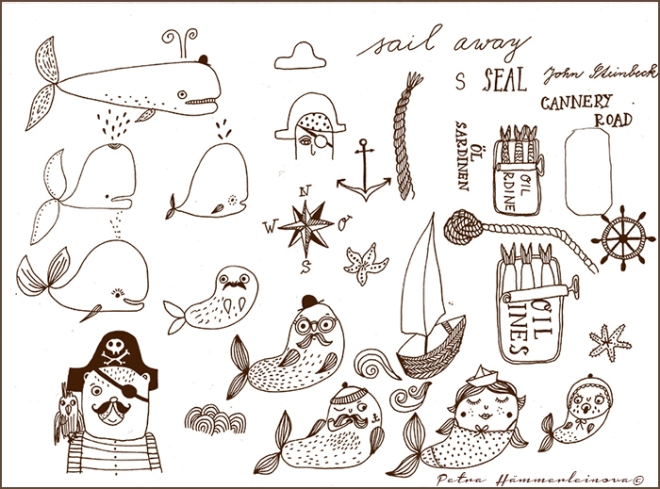 Nautical sketches 3 by Hämmerleinova©